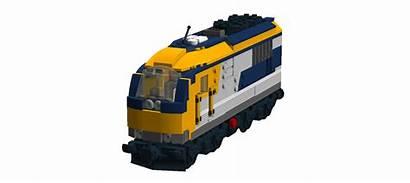 Moc Electric Cab Dual Lego Diesel Train