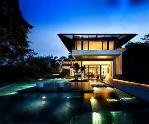 Stunning, Contemporary, House, In, Singapore