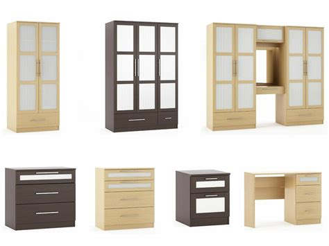 argos bedroom furniture oak  wenge chests drawers