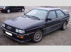 Audi 100 Quattro Parts Genuine and OEM Audi 100 Quattro