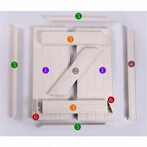 Lames De Volets Roulants Pvc : pvc pour volet battant en kit panneaux profils barres ~ Edinachiropracticcenter.com Idées de Décoration