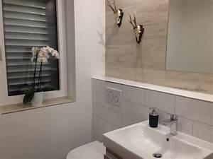 Wandgestaltung Gäste Wc : klug fliesen meisterbetrieb g ste wc kleines bad ~ Markanthonyermac.com Haus und Dekorationen