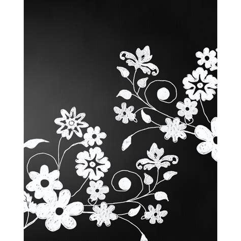 spring flowers chalkboard printed backdrop backdrop express