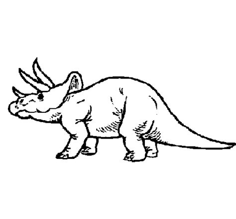 Triceratops Kleurplaat by Triceratops Coloring Page Coloringcrew