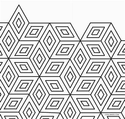 Geometric Coloring Pages 3d Printable
