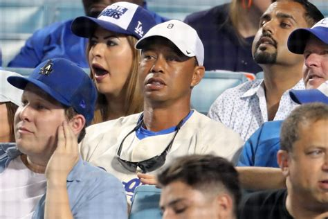 Tiger Woods was remarkably calm about his Dodgers winning ...