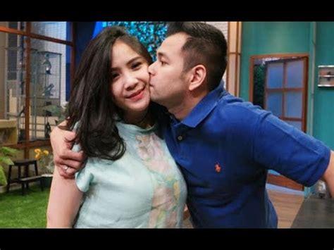 Mesranya Raffi Ahmad Dan Nagita Slavina Lagi Ciuman
