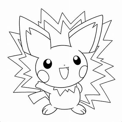 Coloring Pages Printable Pokemon Templates Template Colouring