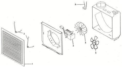 ventilateur de chambre de bain pièces pour ventilateur de salle de bain inventex