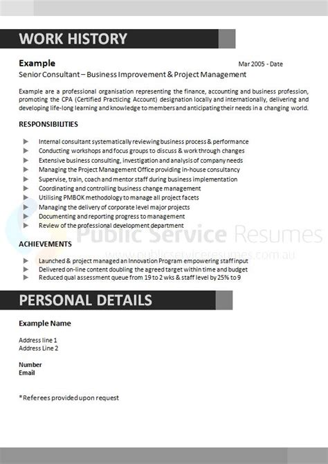 executive government resume 187 executive resume writing service