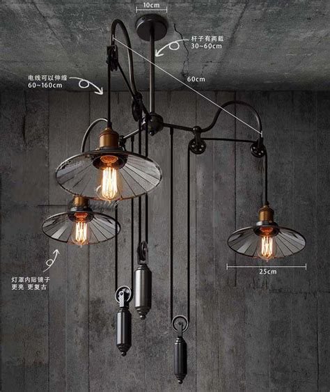 rise and fall pendant lights pull lighting for