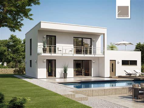 Moderne Einfamilienhäuser Bauhausstil by Bauhaus Novum Kern Haus Musterhaus Net