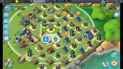 foto de Boom Beach HQ 17 Base Design YouTube