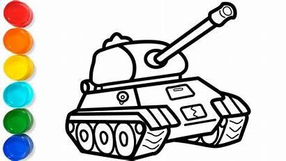 Tank Coloring