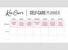 My Crazy Sexy SelfCare Planner