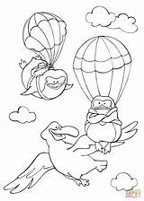 Coloring Flying Sky Albatross Fly Pinguins Curious Animals Printable Learned Stories Tales Drawing Supercoloring sketch template