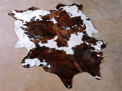 Cowhide Rugs For Sale by Tricolor Cowhide Rug On Sale