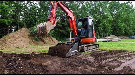 bladebuddy excavator attachment youtube