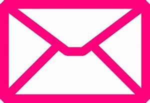 Pink Envelope Clip Art at Clker.com - vector clip art ...