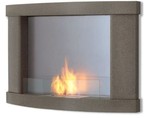 40860 modern grey fireplace modern real ventless fireplace model 730 in grey