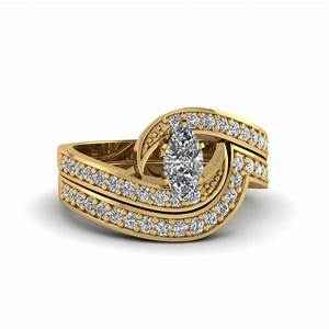 best and affordable marquise cut engagement rings With marquise engagement rings with wedding band