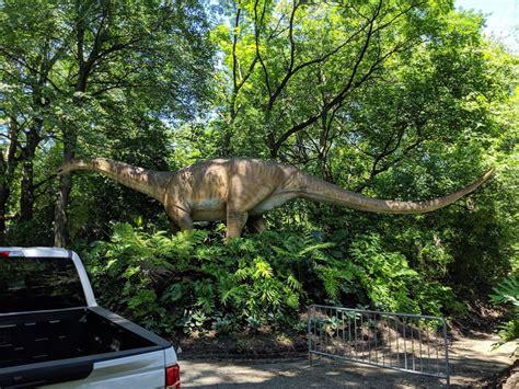 dinosaur safari york zoo exhibit bronx ny