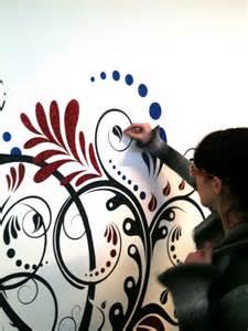 Tutorial glitter come decorare un muro con i brillantini