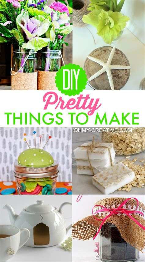 things to make for diy pretty things to make oh my creative Diy