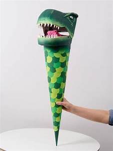 Schultüte Zum Basteln : schult te pappmach dinosaurier paper funnel school cone papier mach dinosaur school cornet ~ Orissabook.com Haus und Dekorationen