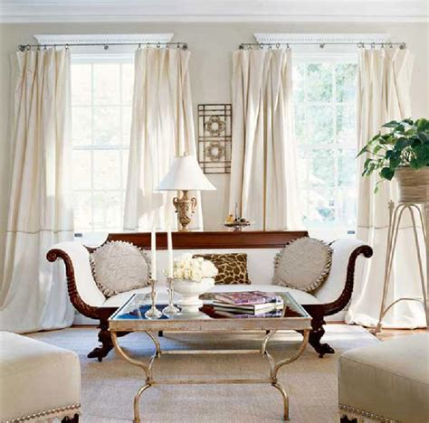 ivory drapes design ideas