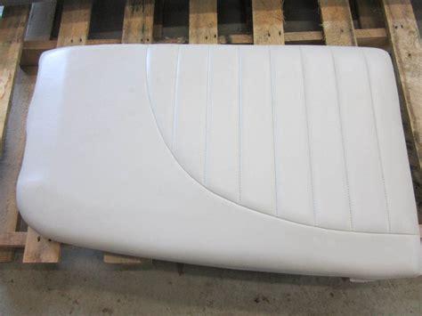Used Boat Cushions For Sale by Mastercraft Ski Boat Seat Cushion White Vinyl Ebay