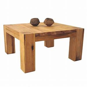 Couch Tisch Eiche : couchtisch eiche massiv natur ge lt 70 x 70 cm braxton ~ Whattoseeinmadrid.com Haus und Dekorationen