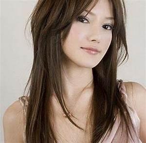 Coupe De Cheveux Pour Visage Long : exemple de coupe de cheveux pour visage rond ~ Melissatoandfro.com Idées de Décoration