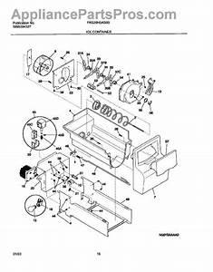 Frigidaire Ice Maker Parts Diagram