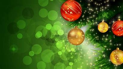 Christmas Background Abstract Tree Wallpapers Decorations Balls