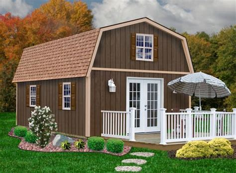 Menards Wood Storage Shed Kits by Best Barns Richmond 16 X 24 Shed Kit Without Floor At