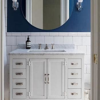 shaped bathroom vanity design ideas