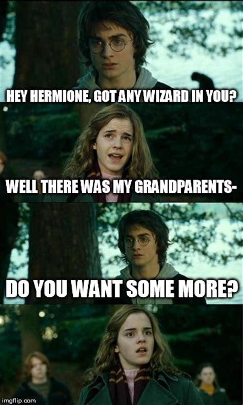 Horny Harry Meme - i wonder if people will start using wizard again imgflip