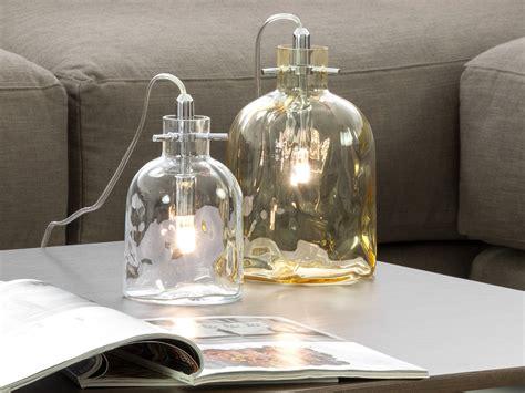 Lampada in vetro a forma di bottiglia Boukali HomePlaneur
