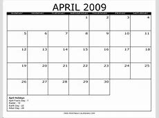 Printable 2009 Calendar Autos Post