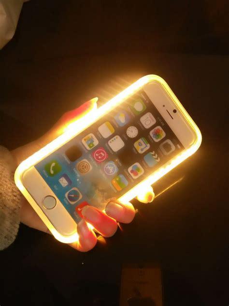 led light for phone led light selfie phone skin for iphone 6 6s led