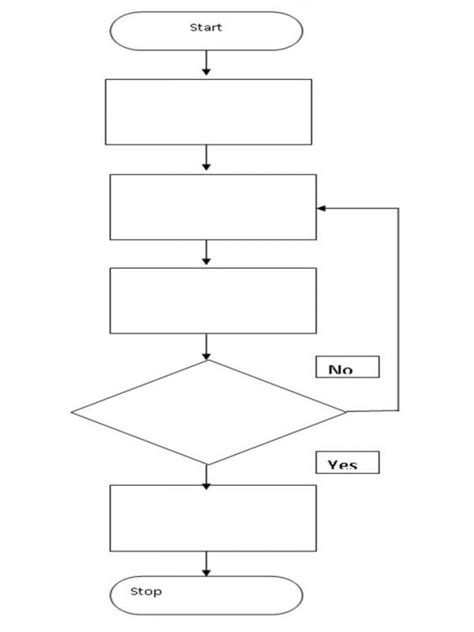 blank flow chart template for word blank flow chart template shatterlion info