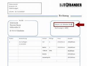 Steuernummer Auf Rechnung : dj rechnungsvorlage template download im ms word format ~ Themetempest.com Abrechnung