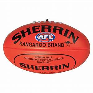 SHERRIN RED SYNTHETIC FOOTBALL - AFL Store
