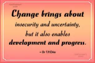 Quotes About Change and Progress