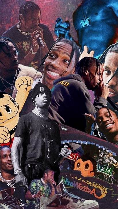 Travis Scott Collage Aesthetic Toliver Don Wallpapers