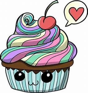 Rainbow cupcake by Hidden-Rainbows on DeviantArt