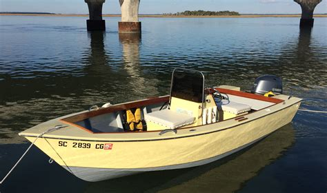 Skiff Boat Small by Tradeoffs Small Boats Monthly
