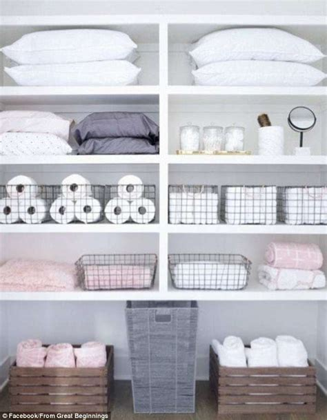 Linen Cupboard Organisation by Are These The Most Amazing Linen Cupboards