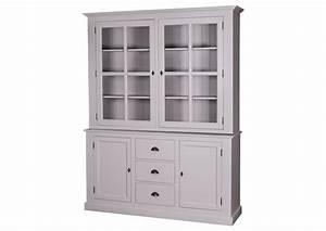 Vaisselier En Pin : acheter votre vaisselier en pin massif avec portes coulissantes et tiroirs chez simeuble ~ Teatrodelosmanantiales.com Idées de Décoration